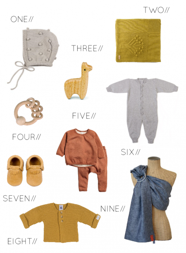 Baby Faves // Winter Wear.