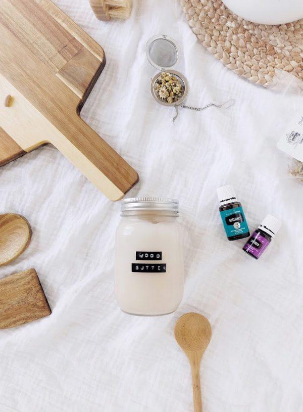 Simple Three Ingredient Wood Butter Recipe!